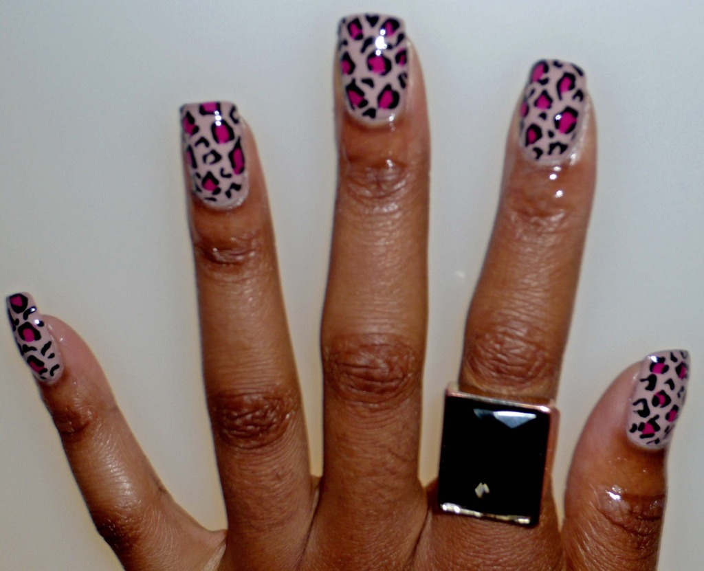 Wah Nails Leopard Print Step By Step Freak Deluxe
