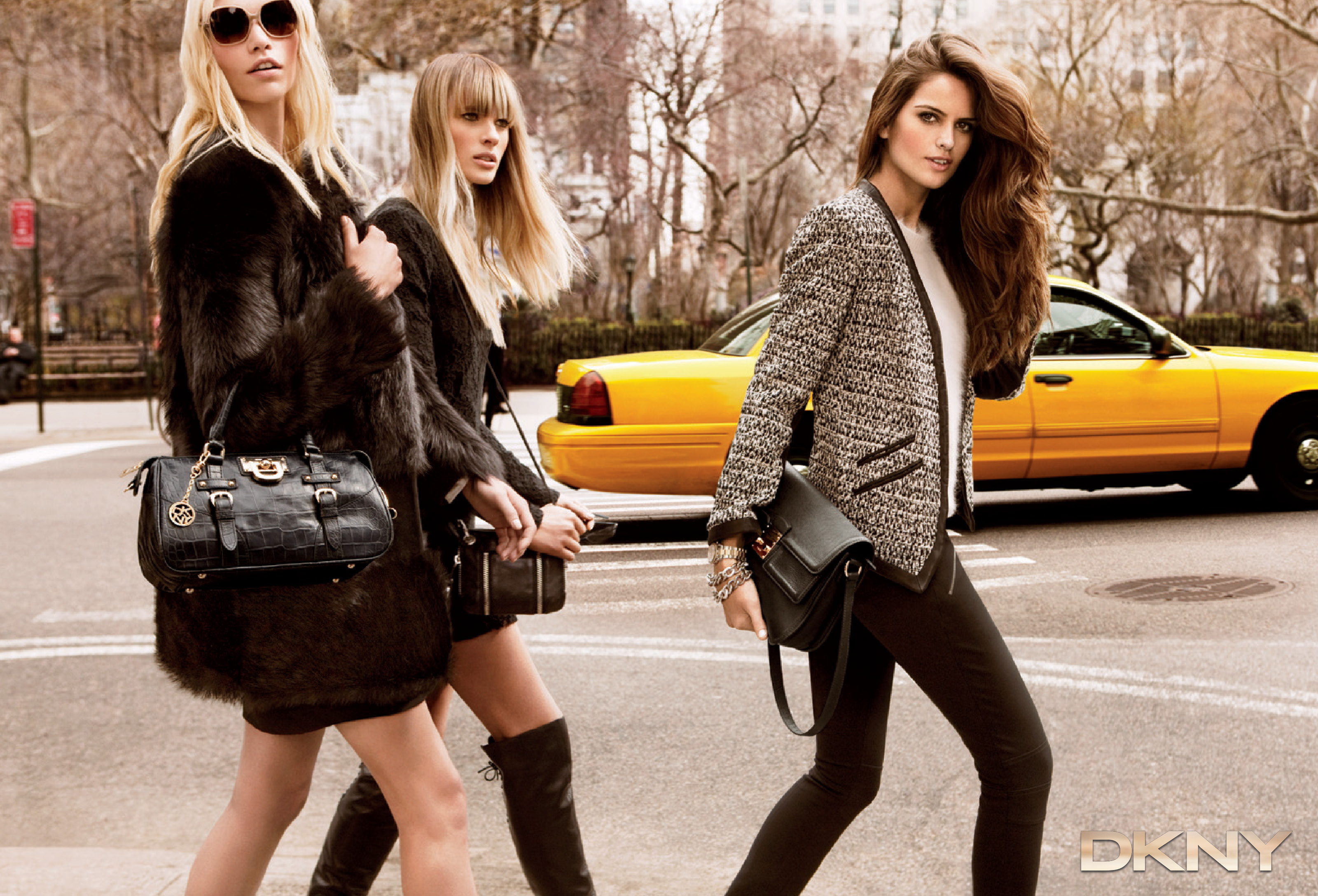 Dkny aw 11 campaign freak deluxe for New york models
