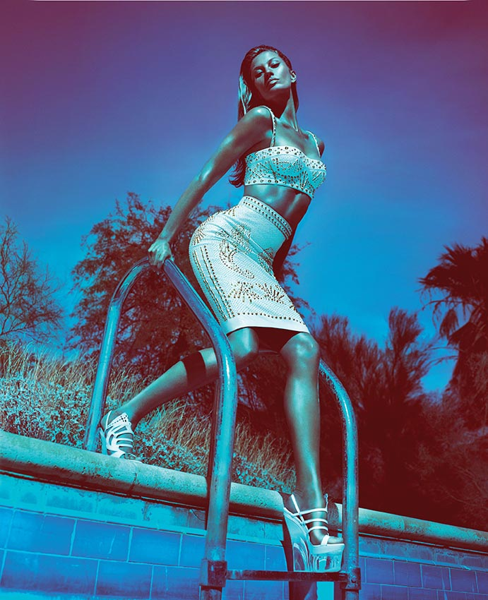 NEW AD CAMPAIGN - VERSACE SS12