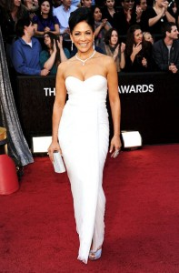 OSCARS TREND: ALL WHITE ON THE NIGHT