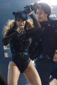 BEYONCE'S MRS CARTER TOUR KICKS OFF.