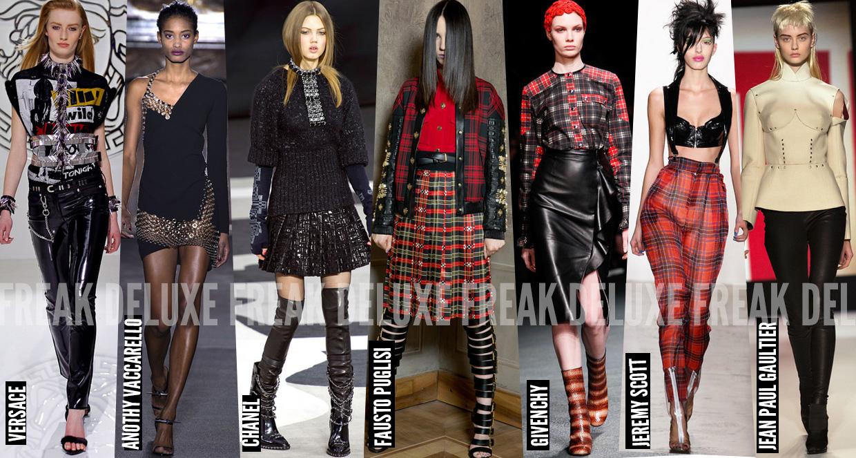 Fashion Aw13 Trend Modern Punk Freak Deluxe