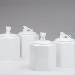 FOR THE HOME: GUARDIANS PORCELAIN JARS