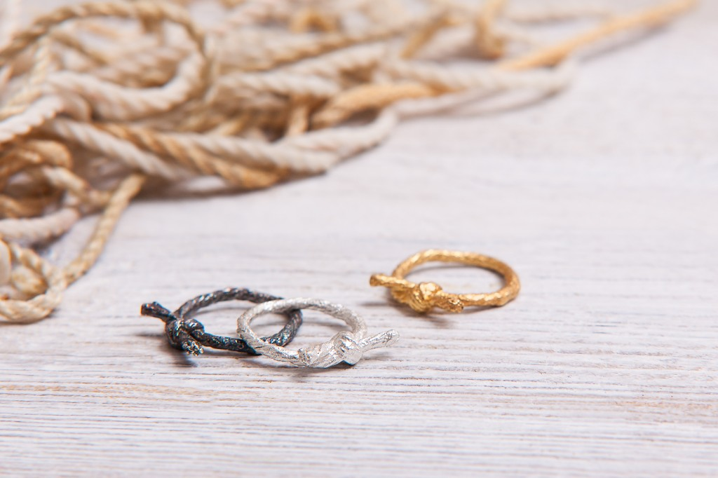I Love a Lassie - Knotted String collection - Knotted Rings