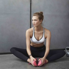 NIKE PRO BRA COLLECTION MODELLED BY KARLIE KLOSS