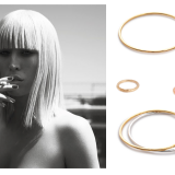 FD LOVES: GOLD HOOPS AND TEXTURED BANGLES FROM I LOVE A LASSIE
