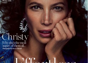 SUPERMODEL CHRISTY TURLINGTON IS THE NEXT PORTER COVER STAR