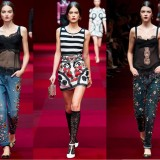 MILAN FASHION WEEK SS15: DOLCE & GABBANA {VIDEO}
