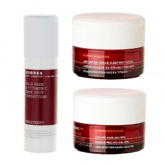KORRES NEW WILD ROSE CORRECTIVE TREATMENT COLLECTION