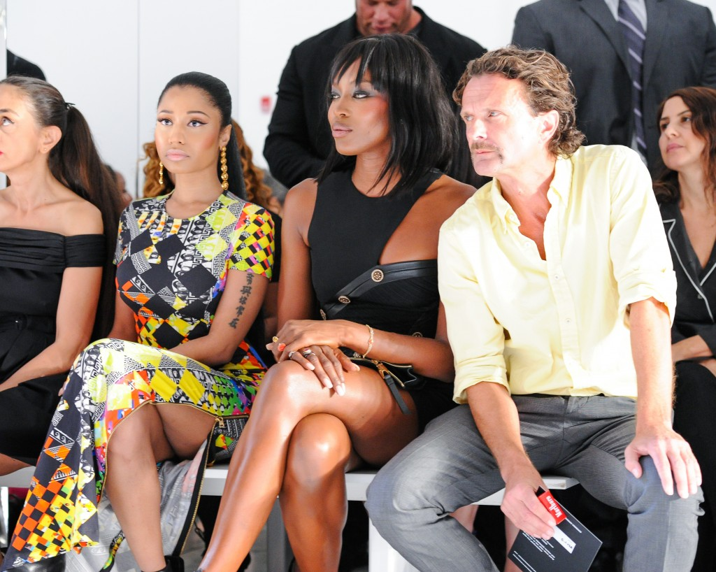 How Hot Was The Frow At Anthony Vaccarello X Versus