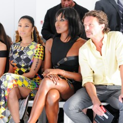 HOW HOT WAS THE FROW AT ANTHONY VACCARELLO X VERSUS VERSACE SHOW?!