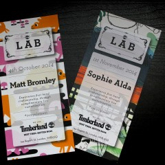 LAST SESSIONS OF THE TIMBERLAND LAB SERIES