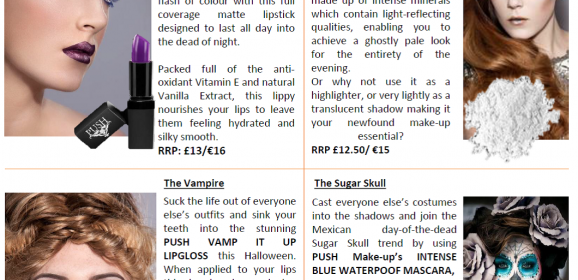 HALLOWEEN MAKE UP TIPS AND TRICKS FROM PUSH MAKE UP