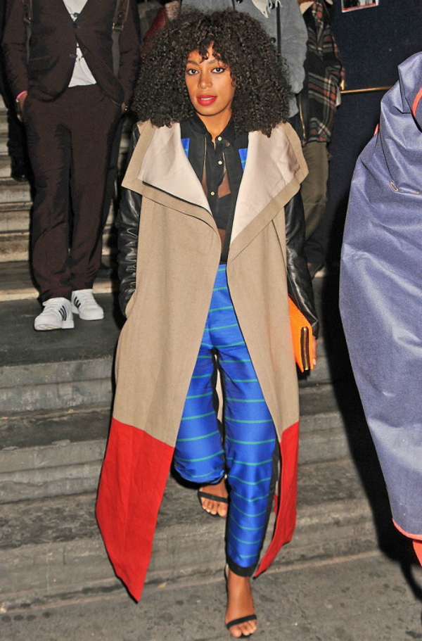 SOLANGE COLOUR BLOCK