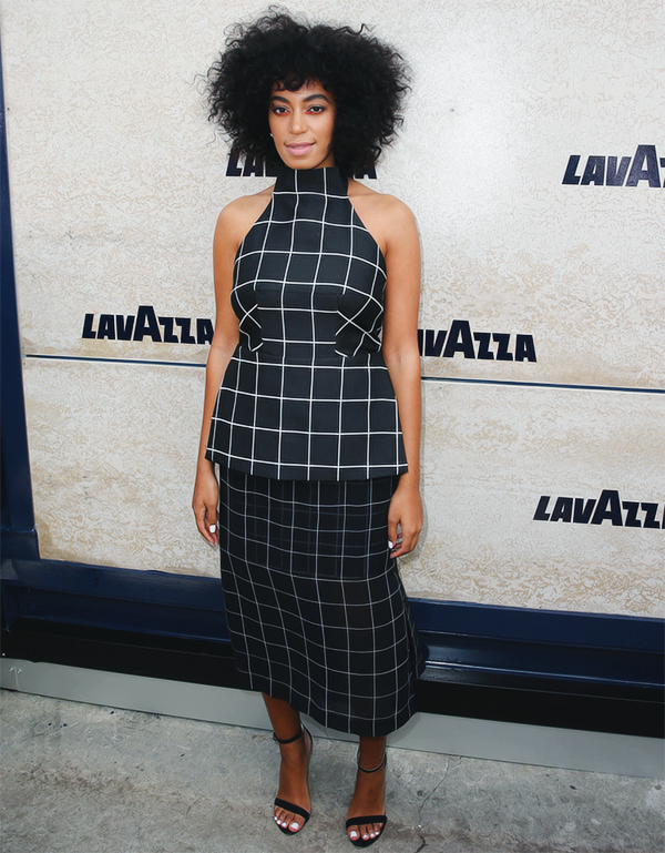 SOLANGE GRID OUTFIT