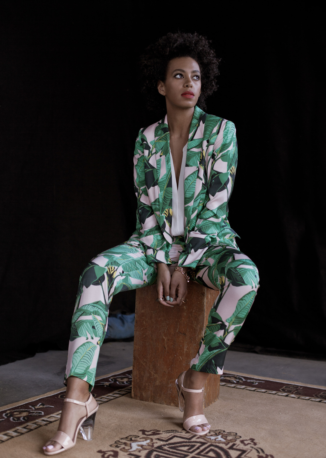 SOLANGE LEAF CO-ORD