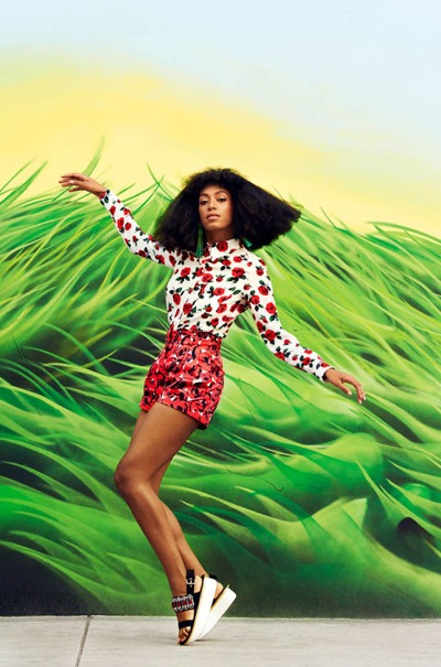 SOLANGE LUCKY SHOOT