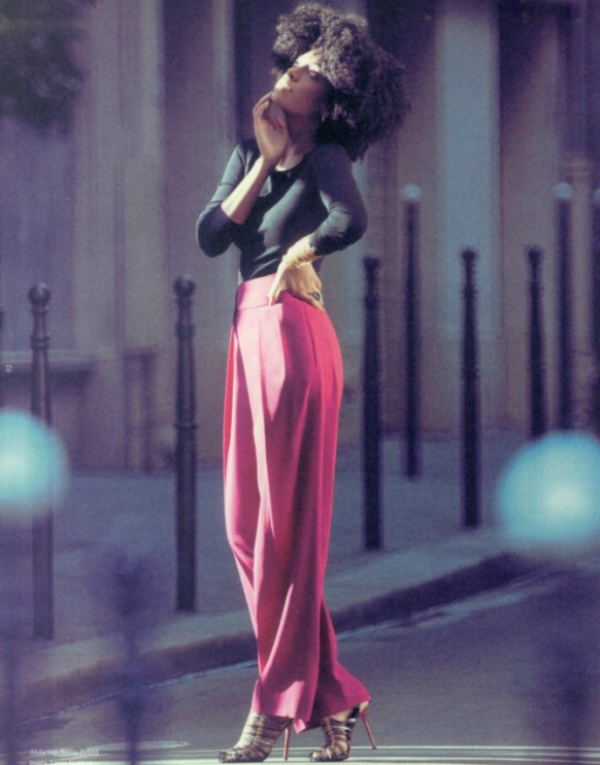 SOLANGE PINK TROUSERS