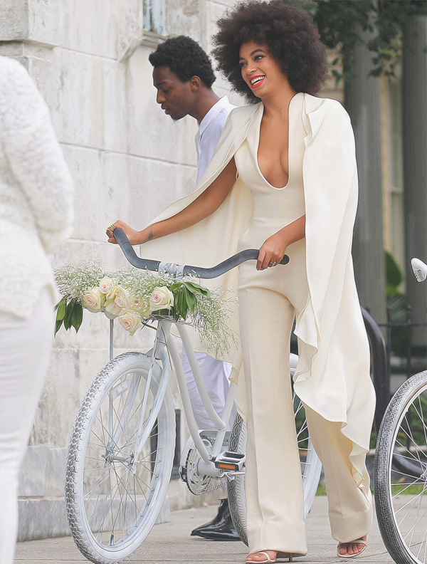 SOLANGE WEDDING BIKE