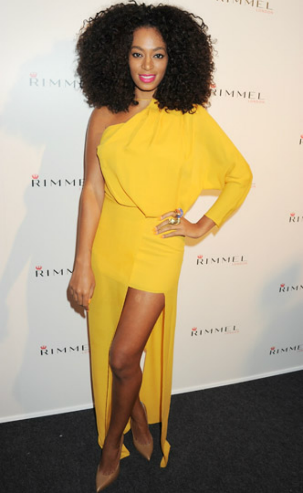 SOLANGE YELLOW DRESS
