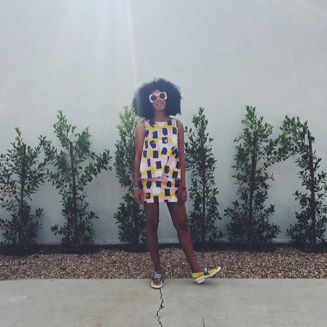SOLANGE YELLOW PINK CO-ORD