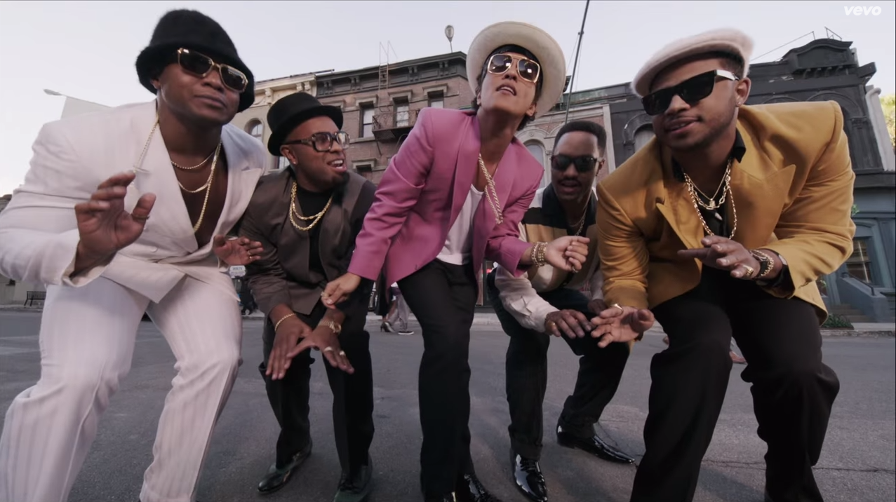 BRUNO MARS UPTOWN FUNK OUTFIT