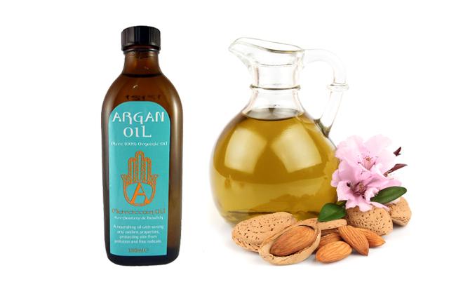 argan oil vs almond oil