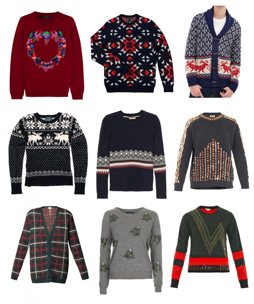 CHIC CHRISTMAS SWEATERS