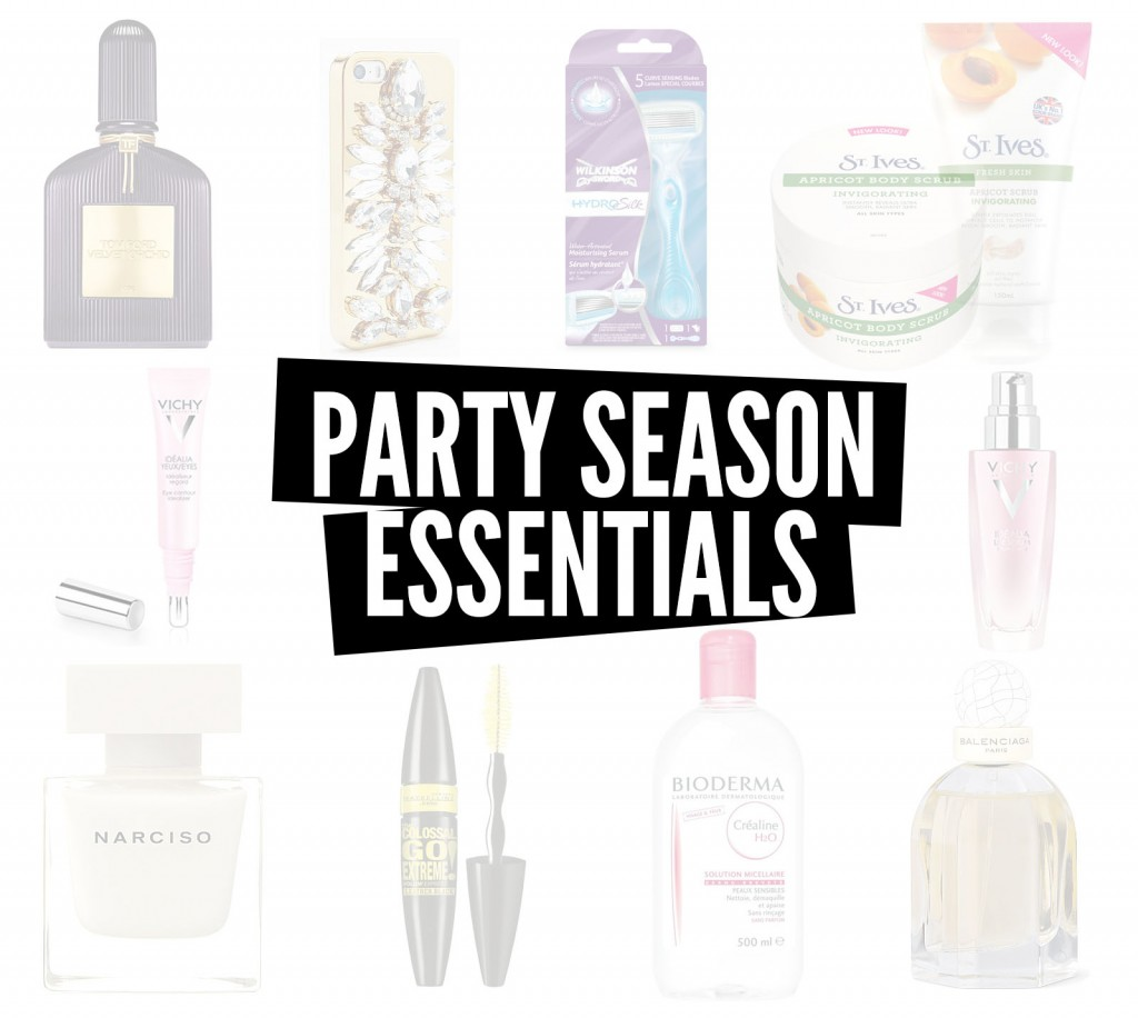 PARTY SEASON ESSENTIALS