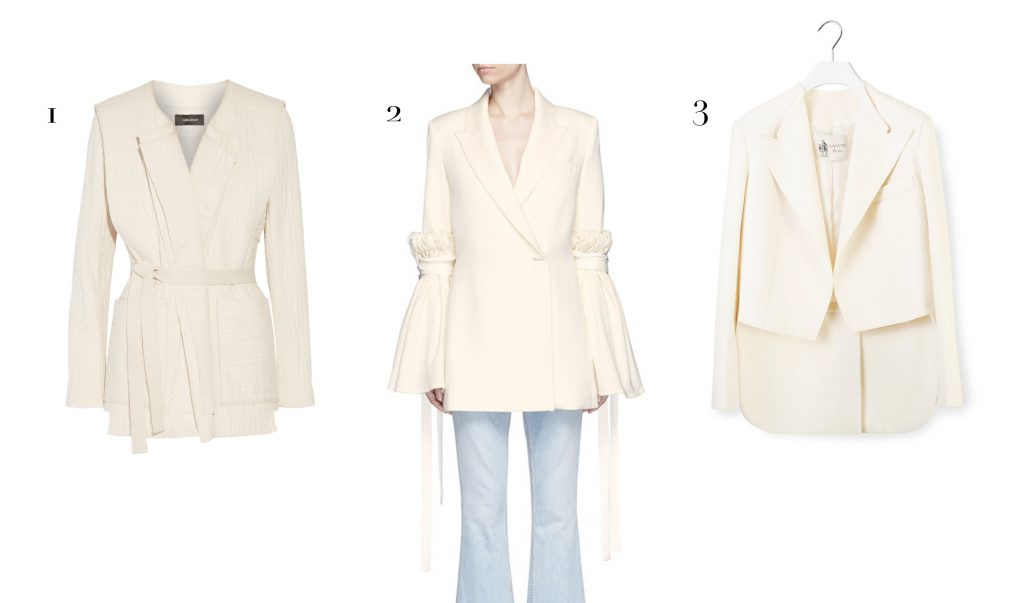 white hot pieces - jackets