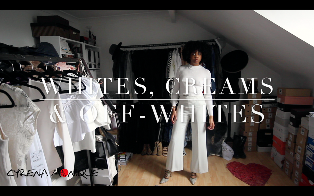 fashion haul white off white cream