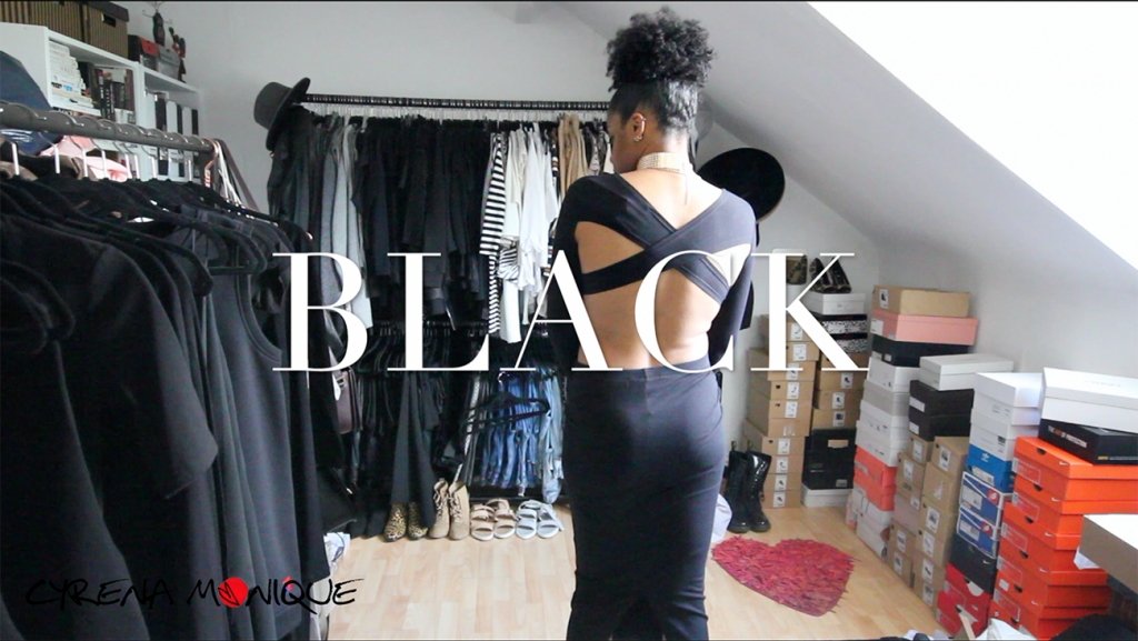fashion haul video black