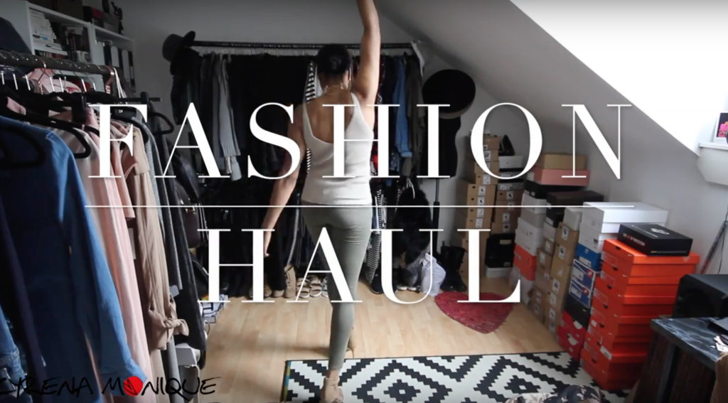 fashion haul try on neutrals